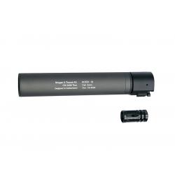B&T ROTEX - III Barrel extension tube(silencer), grey