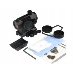 QD High and low Mount with T1 red dot