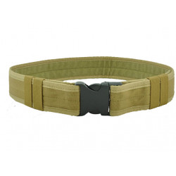 """2""ordinary  Buckle Belt, TAN"