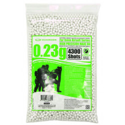 High Precision Made - 0,23g BB Pellets (4300 rounds, Bag)