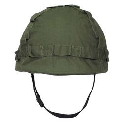 Helma dětská plast s potahem ZELENÁ