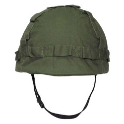 Helmet with plastic coating OD