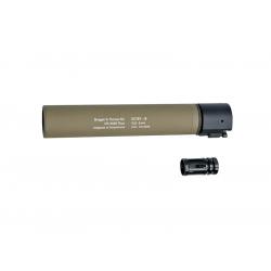 B&T ROTEX - III Barrel extension tube(silencer), TAN