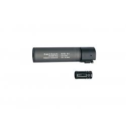 B&T ROTEX C - III Barrel extension tube(silencer), grey