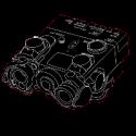 Svítilny, lasery a PEQ