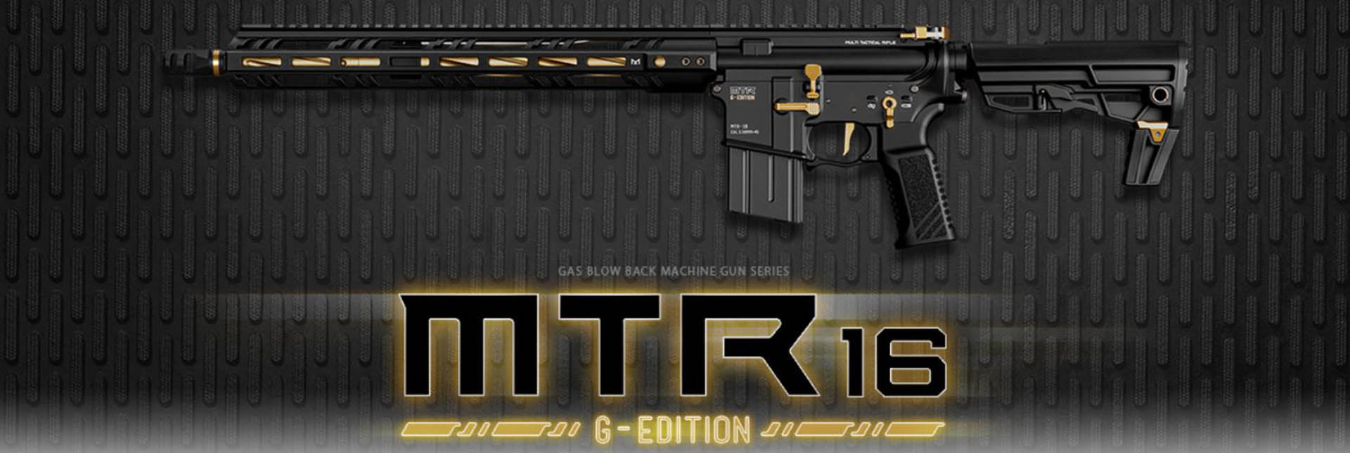 Tokyo Marui GBB MTR16 - Gold Edition